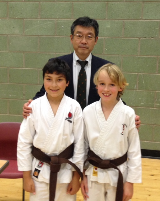 JKA Scotland East Region Grading Results. Saturday 15th November 2014