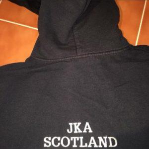 JKA  Hoodie (white letters)