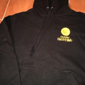Japan Karate Association hoodie (gold letters)